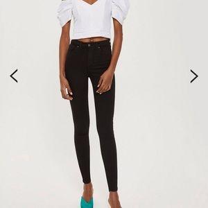 Top shop MOTO Jamie jeans NWT 25